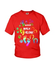Never Walk Alone Tshirt Horse And Dog  Youth T-Shirt tile