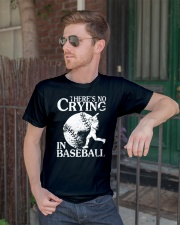 There's No Crying In Baseball Classic T-Shirt lifestyle-mens-crewneck-front-2