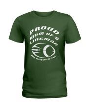 Proud Mom of A Lineman - Football Mother T-Shirt Ladies T-Shirt thumbnail