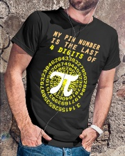 My Pin Number Is The Last 4 Digits Of Pi Number Classic T-Shirt lifestyle-mens-crewneck-front-4