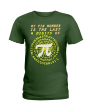 My Pin Number Is The Last 4 Digits Of Pi Number Ladies T-Shirt thumbnail