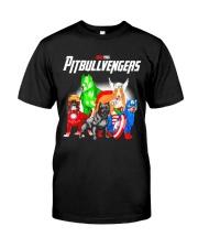 Pitbullvengers Shirt Classic T-Shirt front
