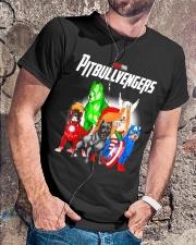 Pitbullvengers Shirt Classic T-Shirt lifestyle-mens-crewneck-front-4