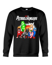 Pitbullvengers Shirt Crewneck Sweatshirt thumbnail