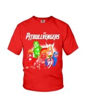 Pitbullvengers Shirt Youth T-Shirt thumbnail