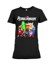 Pitbullvengers Shirt Premium Fit Ladies Tee thumbnail