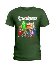 Pitbullvengers Shirt Ladies T-Shirt thumbnail