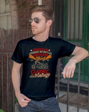 Motorcycle Indian Biker Tee Vintage America TShirt Classic T-Shirt lifestyle-mens-crewneck-front-2