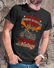 Motorcycle Indian Biker Tee Vintage America TShirt Classic T-Shirt lifestyle-mens-crewneck-front-4