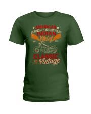 Motorcycle Indian Biker Tee Vintage America TShirt Ladies T-Shirt thumbnail
