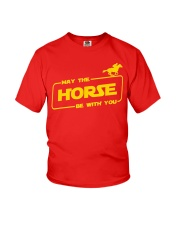Horse Lover T Shirt May The Horse Be With You Youth T-Shirt thumbnail
