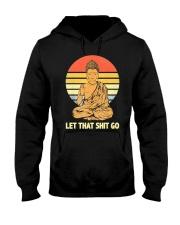 Let That Shit Go Buddha Vintage Hooded Sweatshirt thumbnail