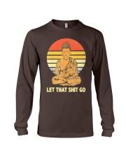Let That Shit Go Buddha Vintage Long Sleeve Tee thumbnail