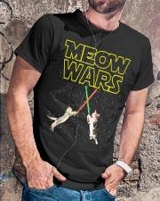 Meow Wars Cat Shirt Classic T-Shirt lifestyle-mens-crewneck-front-4