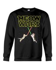 Meow Wars Cat Shirt Crewneck Sweatshirt thumbnail