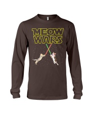 Meow Wars Cat Shirt Long Sleeve Tee thumbnail