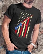 American Flag T Shirt Classic T-Shirt lifestyle-mens-crewneck-front-4
