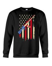 American Flag T Shirt Crewneck Sweatshirt thumbnail