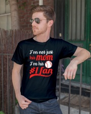 I'm Not Just His Mom Classic T-Shirt lifestyle-mens-crewneck-front-2