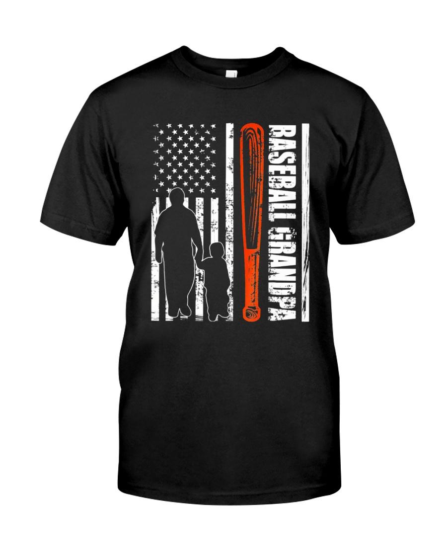 BASEBALL GRANDPA TSHIRT Classic T-Shirt