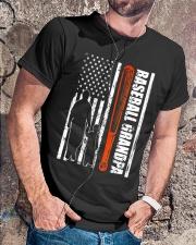 BASEBALL GRANDPA TSHIRT Classic T-Shirt lifestyle-mens-crewneck-front-4
