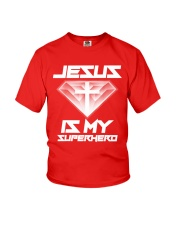 Jesus Is My Superhero Shirt Youth T-Shirt thumbnail