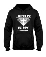 Jesus Is My Superhero Shirt Hooded Sweatshirt thumbnail