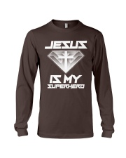 Jesus Is My Superhero Shirt Long Sleeve Tee thumbnail