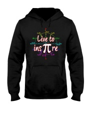 Live to Inspire Pi Day T Shirt Hooded Sweatshirt thumbnail