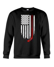 Hockey Flag T-Shirt for Hockey Fans Crewneck Sweatshirt thumbnail