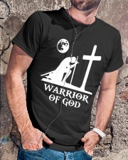 Warrior of GOD Christian Tee Men Women Classic T-Shirt lifestyle-mens-crewneck-front-4