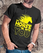 May The Horse Be With U You Classic T-Shirt lifestyle-mens-crewneck-front-4