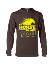 May The Horse Be With U You Long Sleeve Tee thumbnail