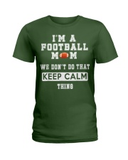 I'm a Football Mom  Ladies T-Shirt thumbnail