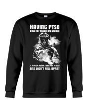 Having PTSD Does Not Mean I Am Broken  Crewneck Sweatshirt thumbnail