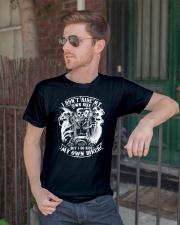 I Do Ride My Own Biker Tshirt Classic T-Shirt lifestyle-mens-crewneck-front-2