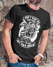 I Do Ride My Own Biker Tshirt Classic T-Shirt lifestyle-mens-crewneck-front-4