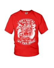 I Do Ride My Own Biker Tshirt Youth T-Shirt thumbnail