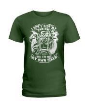 I Do Ride My Own Biker Tshirt Ladies T-Shirt thumbnail