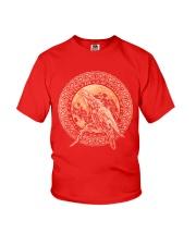 Viking Odin's Ravens Hugin and Munin T-Shirt  Youth T-Shirt thumbnail