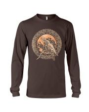 Viking Odin's Ravens Hugin and Munin T-Shirt  Long Sleeve Tee thumbnail