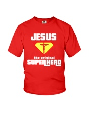 Jesus the Original Superhero T-Shirt  Youth T-Shirt thumbnail
