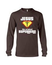 Jesus the Original Superhero T-Shirt  Long Sleeve Tee thumbnail