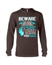 Horse Lover Beware I Ride Horses T Shirt Long Sleeve Tee thumbnail