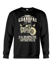 Real Grandpas Ride Motorcycle T-shirt Crewneck Sweatshirt thumbnail