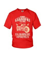 Real Grandpas Ride Motorcycle T-shirt Youth T-Shirt thumbnail