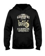Real Grandpas Ride Motorcycle T-shirt Hooded Sweatshirt thumbnail