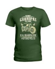 Real Grandpas Ride Motorcycle T-shirt Ladies T-Shirt thumbnail