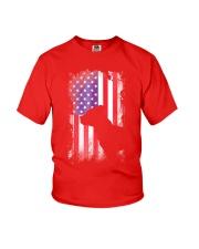 American Pit Bull Terrier USA Flag Shirt  Youth T-Shirt thumbnail