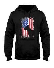 American Pit Bull Terrier USA Flag Shirt  Hooded Sweatshirt thumbnail